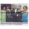 Johann Strauss Society - Karen and Steve Boccone with Fanny Blanco, Frank Adriano and his wife, A...