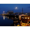harbour sea boat poland wladyslawowo night
