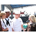 southstreet seaport newyorkcity fleetweek navy sailors women people