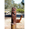 sculpture wooden farm yard post swan valley littleollie