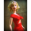 Marilyn Monroe Impersonator barbie