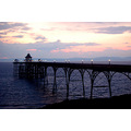 clevedon pier bristol channel south wales