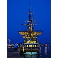 Gotheborg Ship Replica 2003 Original 1738 Sweden Landskrona Harbour