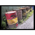 oil drums drum container metal