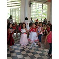 ylleah jjean rosado UCCP ECLC preschool 2011 bayawan red dress