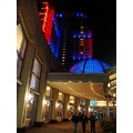 At 7:31pm-As we were leaving-I took a couple of shots outside-Fallsview Casino-Niagara Falls,Ont....