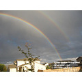 Real Double Rainbow Photographed by my good friend NMP
