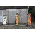 petrol pumps aliens old rusty gas gasoliene