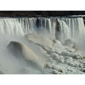 Taken earlier at 4:59pm.American Falls-Niagara Falls,USA-On Friday,Mar.29,2013 By Lisa Gallant