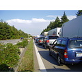 CzechRepublic motorway D1 jam