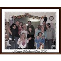 The fam...well some of them my little bros and thier girls mom & boyfriend and me and my crew.......