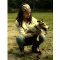 My little cousine with her Jack Russell Bobby, he is great!!!
