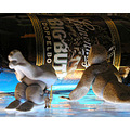 Even though I don't drink my friends collect odd beer bottles for me !