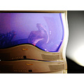crazy television reflection