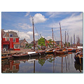 netherlands spakenburg harbour reflectionthursday nethx spakx harbn waten boatn