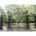 light Regents Park London gates gate