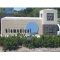 building stlouis missouri architecture glass silver blue beige