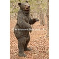 Animatronic Black Bear suit costume puppet