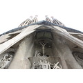sagrada familia church architect gaudi columns towers