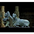 I took this picture in a temple in Tamil nadu which is around 3500 years old. its the sculpture o...