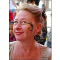 woman makeup portrait karneval