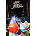 zuiderdam cruise willemstad curacao statue sculpture hat funfriday