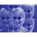 Sasparella Girl Blue Portrait Effects Multi Image Kaleidoscope