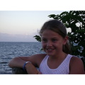 Alexandria at the beach. We went down to West Haven Beach, what a beautiful night...