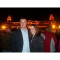 That's me and Stuart at the Carol of Lights this last December. I call him Pops though because he...