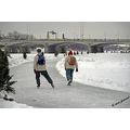 winter winnipeg canada ice snow skating redriver
