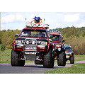 Monster trucks 4 wheel drive Rother Valley Country Park