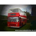 Bus Double Decker Red Vintage