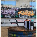 spray can graffiti shed