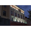 bulgaria plovdiv night lights centre petzka home town