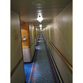 eastern caribbean cruise princess ship hallway