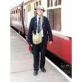wales blaenafon railway trains people 1940s