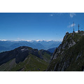 pilatus landscape switzerland luzern mountain alps weather station