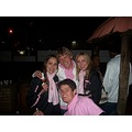 Me, Johannes, Charl and Steve in front at the Kollege-Magrietjie Social.