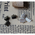 bracelet supplies fold clip for bracelet clips alloy clips