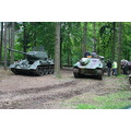 T34 Hetzer panzer tank WW2 German Russian Militracks Overloon