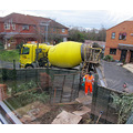 5. then the concrete arrived...