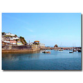 Sea Water Cornwall Sail Harbour Boat Coast Mevagissey MMVI