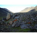 Remains of the golden days of the ski-hut in Josepsdalur valley, south-west Iceland.