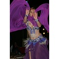 Belly dancer in the camp