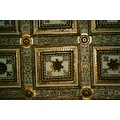 BASILICA OF SANTA MARIA MAGGIORE Rome  Details of the center ceiling of the cathedral...