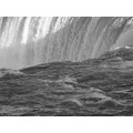 At 6:32pm.In B&W. Horseshoe Falls,Ont.,On Friday,Mar.29,2013