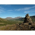 e620 sky clouds cairn mountains botnsdalur Iceland