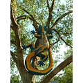 Art Sculpture Lizard Tree Florida Moofygirl