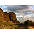 salisbury mountain sunset scotland edinburgh crags holyrood