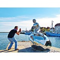 Spanish Fotographer MAN Sculpture Helsingor 2012 August Denmark